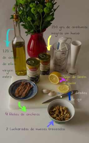 Mi receta de Tapenade !!