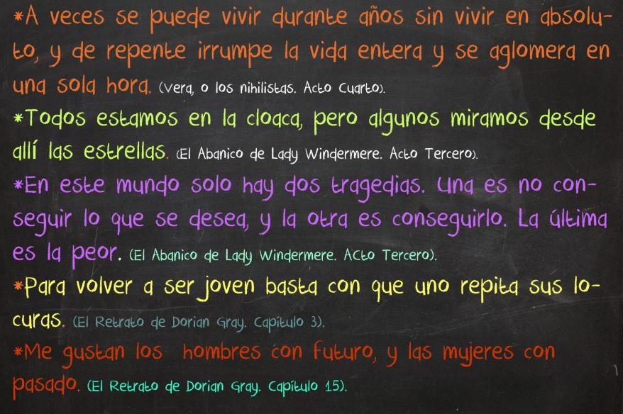 Frases de Oscar Wilde2